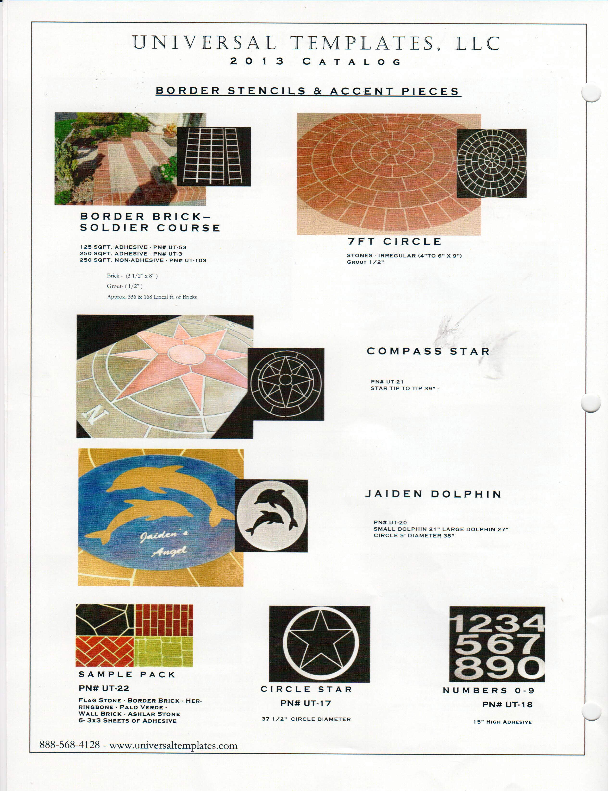 Stamps Patterns And Templates Selections The Concrete
